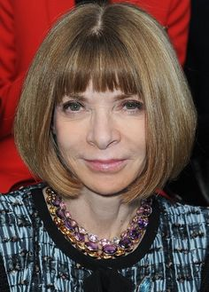 20 Short Hairstyles for Older Women: Bob Haircuts with Blunt Bangs