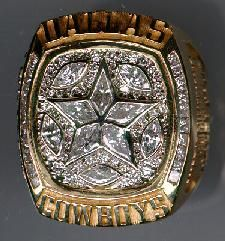 1995 dallas cowboys super bowl ring