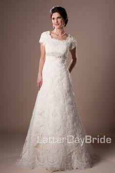 latter day bride Laureline