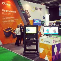 Great to catchup with @geistglobal and see our stand design @datacenterworld  #exhibitionstand #exhibitiondesign #marketing #graphicdesign #datacenter