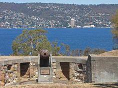 From Kangaroo Bluff Battery, across Derwent River to Wrest Point Casino in Sandy Bay. Article for Think Tasmania. Tasmania, Hobart City, Gold Coast Australia, Australia Living, Historical Sites, Continents, East Coast, Kangaroo, Mount Rushmore