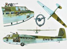 Armas-Planadores Militares - Segunda Guerra Mundial - DFS 230 glider, pin by… Mais