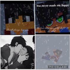 My ship has sunk! It's sooooo sad! I cried!#Aarmau #KillEin #BringAaronBack!!! MyStreet Season 4: Emerald Secret episode 13: 'I Will Always Love You'; Aphmau YouTube.