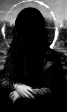 The Ring Mona lisa Dark Gothic, Gothic Art, Mona Lisa, Look Dark, Arte Horror, Dark Photography, Arte Pop, Dark Beauty, Dark Art