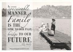 alex haley bridge quote