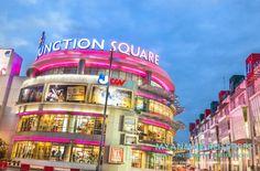 MYANMAR Reisetipps: YANGON | Hier bekommst du die besten Insidertipps für deine Reise nach Yangon in Myanmar: Hotels, Gästehäuser, Kosten, Anreise, Karten, Maps, Restaurants, Eintrittspreise, Reiseberichte uvm. www.MyanmarBurmaBirma.com | Shoppingcenter Junction Sqare