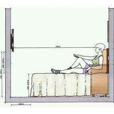 Ergonomia #quarto #bedroom
