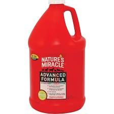 Nature's Miracle, Advanced Formula Severe Pet Stain and Odor Remover size: 1 Gal