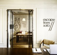 Escape from Sofa has recently moved into a new office for its own design firm located in Istanbul.