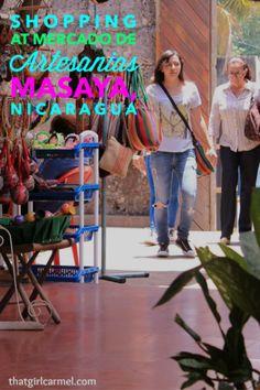 Exploring Mercado de Artesanias, the craft market in Masaya, Nicaragua