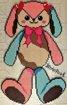 Bunny Plushy by PerlerPixie on DeviantArt