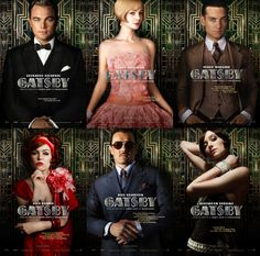 The Great Gatsby film posters