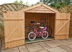 bike storage for garden google search - Garden Sheds 6 X 2