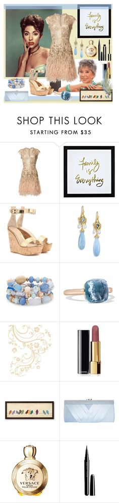 """""""Family is everything"""" by julyralewis ❤ liked on Polyvore featuring Matthew Williamson, WALL, Gianvito Rossi, Anthony by Anthony Camargo, Chico's, Pomellato, Chanel, GCGme, Versace and Marc Jacobs"""