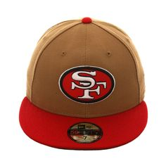 501994825f5f1 Exclusive New Era San Francisco 49ers 1968 Hat - 2T Khaki