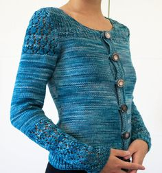 Instant download Costanza knit cardigan от MinimiKnitDesign