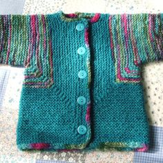 Baby Surprise Jacket, coat sweater for boy or girl, handmade in Australia by WhiteRabbitKnitwear