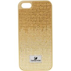 Swarovski Thao Golden Pattern Smartphone Case 5050019 - Handbags -... (81 CAD) ❤ liked on Polyvore featuring accessories and tech accessories