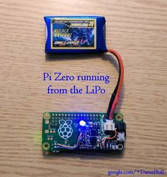 Run a Raspberry Pi from a LiPo battery – Raspberry Pi Pod