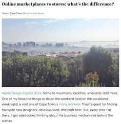 Online marketplaces vs stores: what's the difference? Blog Online, Online Marketplace, Different, Things To Do, Mountains, World, Store, School, Beach