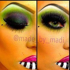 BEETLE JUICE makeup halloween