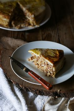Slice of rice and cabbage timbale by RebeckaGSendroiu