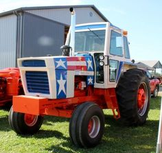 1976 Case 1570 'Spirit of Big Tractors, Case Tractors, Farmall Tractors, John Deere Tractors, Antique Tractors, Vintage Tractors, Red Stuff, Cool Stuff, Classic Tractor