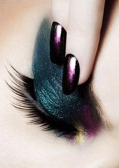 jewel tones Love this nail polish