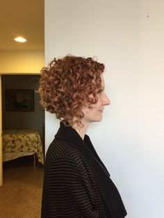 Naturally curly bob haircut. Deva cut. Devachan. Done by kelley.