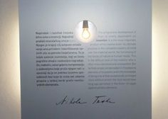 Electric Current discovered by Nikola Tesla 1889. #electricity #nikola #tesla #smiljan #croatia