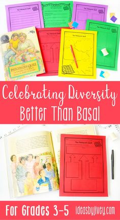 Making sure students feel represented in culture, gender, race, religion, and family structures is so important! This product is filled with Common Core aligned lesson ideas, activities, graphic organizers, and writing prompts for 10 of your favorite mentor texts that celebrate diversity to use in grades 3-5! There are multiple graphic organizers WITH answer keys for each text, and generic versions of the graphic organizers so you can use them with any book!  #mentortexts #weneeddiversebooks