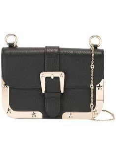 Red Valentino shoulder strap buckle bag