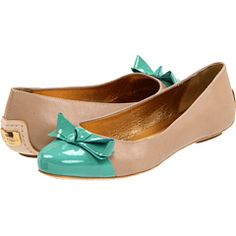 Your fashion dreams have come to fruition with these retro-inspired Kate Spade New York™ Tabby flats!  Leather upper.  Cap toe with bow accent.  Leather lining and lightly padded insole.  Brand name engraved on hardware plaque.  Leather sole with rubber heel tap.  Made in Brazil.  Heel Height: 1⁄4 in  $179.99