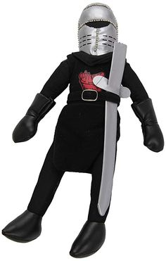 Toy Vault Black Knight Plush Toy, Toys For Children For Gift For Birthday Monty Python, Sideshow Toys, Buy Toys, Vinyl Cover, Vaulting, Kids Toys, Motorcycle Jacket, Knight, Best Gifts