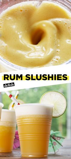 Rum Slushies Will Help You Get The Party Started All SummerDelish
