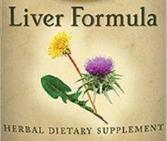 Natural Herbal Tincture Liver Formula Health Supplement Cleansing Detoxifying Detox Formula Tonic Organic Certified USA