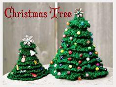 Crochet Christmas Tree free pattern on Craftsy by Rainbow Valley Crochet