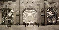 Milano, atrio della stazione Centrale (1912-25, arch. Ulisse Stacchini)