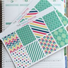 NEW! November Monthly Full Box Stickers for Erin Condren Life Planner/Plum Paper Planner - Set of 16