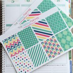 NEW! November Monthly Full Box Stickers for Erin Condren Life Planner/Plum Paper Planner - Set of 16