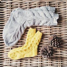 Knitted socks Knitting Socks, Gloves, Fashion, Knit Socks, Moda, Fashion Styles, Fashion Illustrations