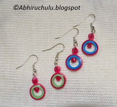 paper quilling jewellery - Google Search