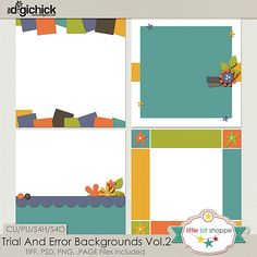 Trial and Error Backgrounds Vol 2 http://www.thedigichick.com/shop/Trial-And-Error-Backgrounds-Vol.2.html