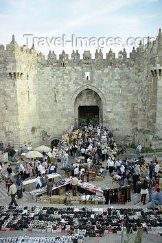 Jerusalem: Damascus gate