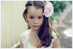 Flowergirl Hair Accessories / Wedding Style Inspiration / LANE #TheLANEWeddingsand#DelphineManivet