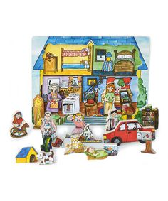 Another great find on #zulily! House Puzzle #zulilyfinds by Flipzles, $12 !!