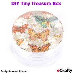 DIY Tiny Treasure Boxes  Fridge Magnets Recipe from eCrafty.com 650F Clear Acrylic Shadow Boxes 5pc Set 1418 1″ Round Adhesive Backed Magnets 10pc 311A-10PC 30mm 1.25″ Glass Domes Cabochons 800P Double Sided Adhesive Peel and Stick Film See entire post click here #ecrafty www.eCrafty.com #fridgemagnets #diycrafts #diyfridgemagnets #diytreasurebox #diygiftbox #collagebox Bead Storage, Storage Boxes, Homemade Gifts, Diy Gifts, Diy Gift Box, Gift Boxes, Office Organisation, Diy Magnets, Beaded Boxes