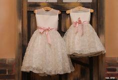 20 inspirações de vestidos para daminhas | Blog do Casamento - O blog da noiva criativa! | Trajes e acessórios