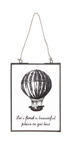 Balloon Window Hanging