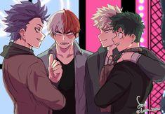 Ignition: Katsuki Bakugou x Reader - Chapter Deku, Shouto, Bakugou and Shinso? Boku No Hero Academia, My Hero Academia Memes, Hero Academia Characters, My Hero Academia Manga, Me Anime, I Love Anime, Street Dance, Bakugou Manga, Deku X Kacchan